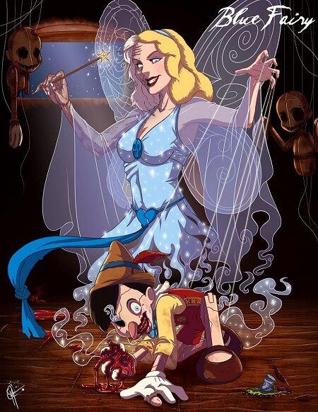 Disney Cantik Monster Menyeramkan 8