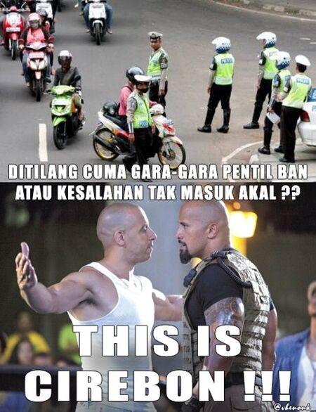 Meme Cirebon Kota Tilang 7