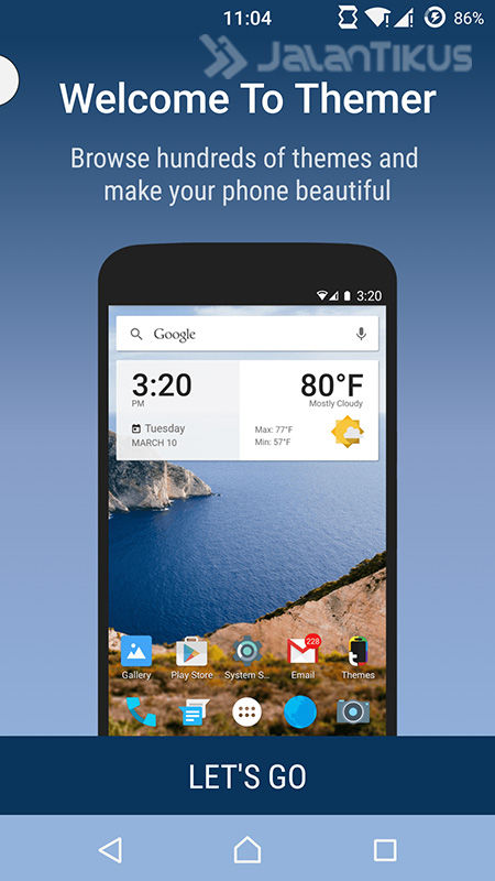 Android Tampilan Jadul 1