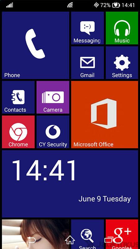 Ubah Android Jadi Windows8 3