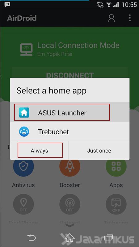 Asus Launcher 2