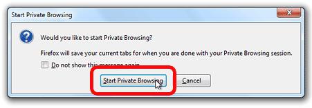 Cara Menggunakan Private Browsing Di Firefox 2
