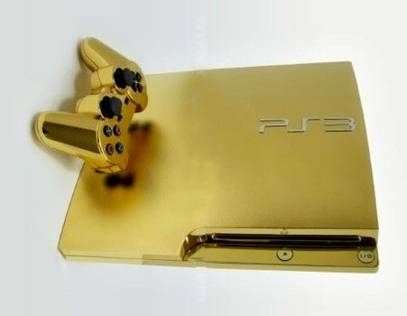 Playstation Supreme Gold Plated Custom 2add6