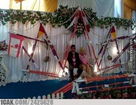 Konsep Pernikahan Unik Pramuka 8e8b6