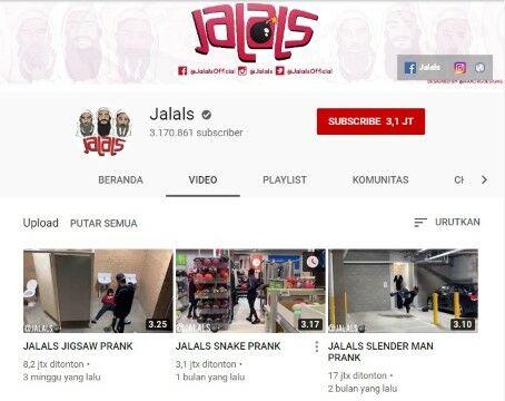Channel Youtube Prank Jalals Custom 5e52f