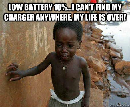 Meme Baterai Lowbat Yang Bikin Pengen Ganti Hp Baru 15