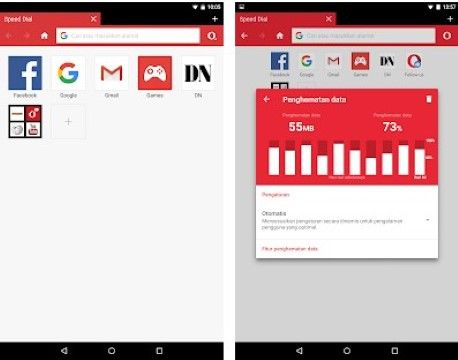 Aplikasi Browser Tercepat Opera Mini Custom 3631c