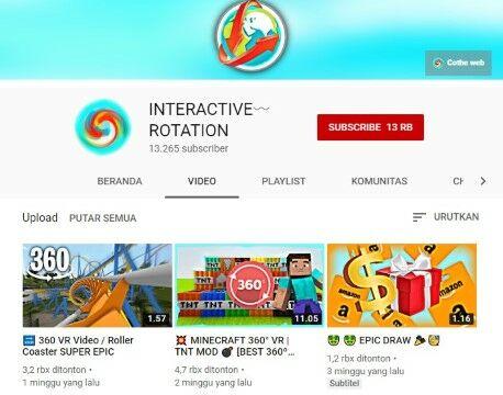 Interactive Rotation Cf794
