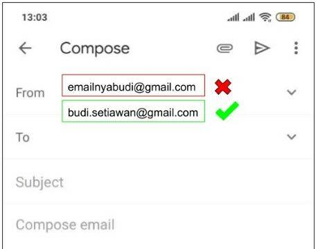 Contoh Alamat Email Yang Baik Dan Benar Cc4e6