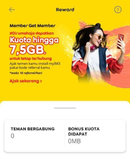 Cara Mendapatkan Kuota Gratis Indosat 7gb E6a98