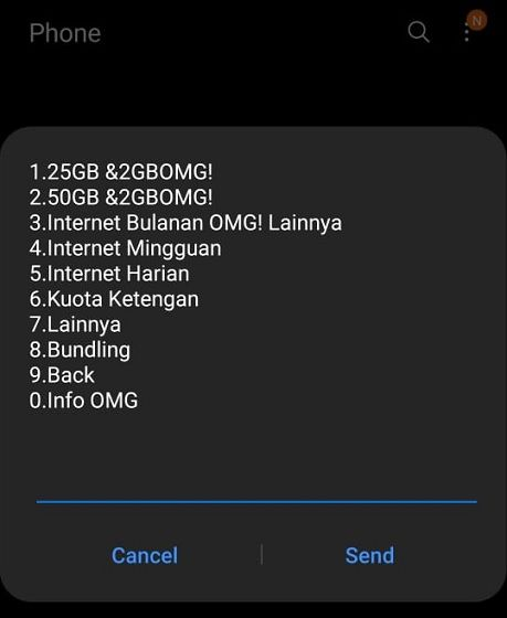 Cara Memaketkan Telkomsel 1 87767