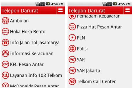 Telepon Darurat Apk
