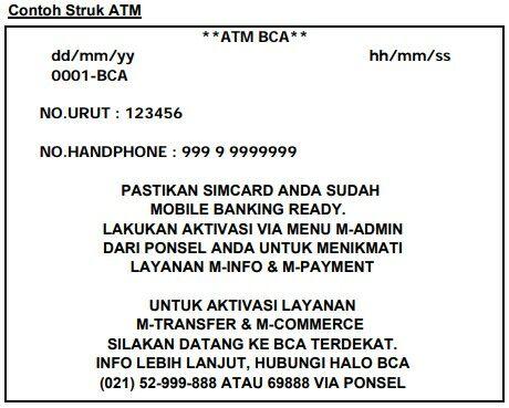 Cara Daftar M Banking Bca 11 09118
