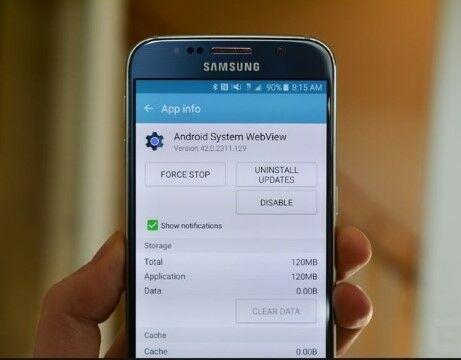 Android System Webview Sebabkan Error Dan Crash E88d5