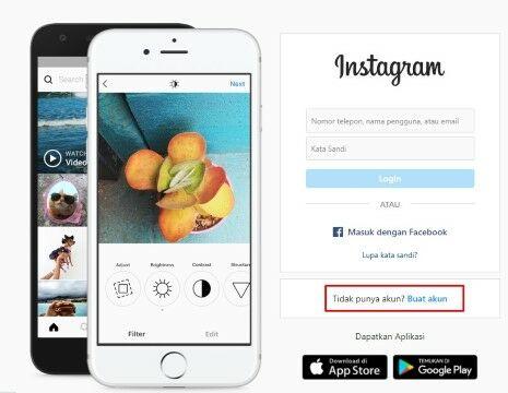 Cara Daftar Instagram Tanpa No Hp E4a76