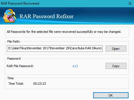 Cara Hack Password File Rar 1