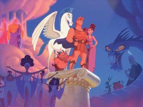 Disney Underrated Hercules 1997 Custom 40b64