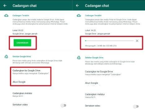 Cara Memindahkan Whatsapp Backup3 Custom Bf007