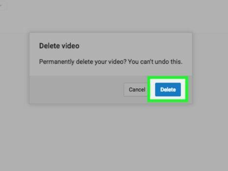 Cara Menghapus Video Di Youtube 06069