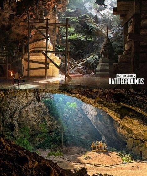 Lokasi PUBG Yang Terinspirasi Dari Dunia Nyata Cave 264d9