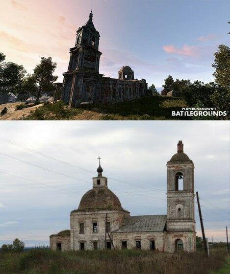 Lokasi PUBG Yang Terinspirasi Dari Dunia Nyata Church 9a2dc
