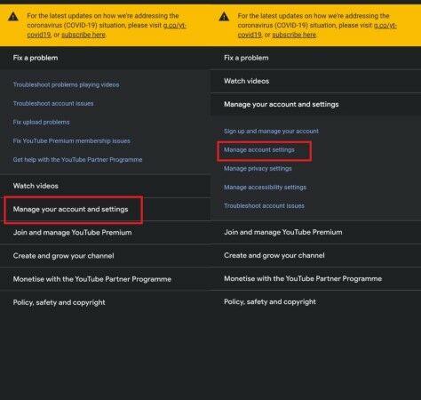 Delete Youtube Channel E4bf9