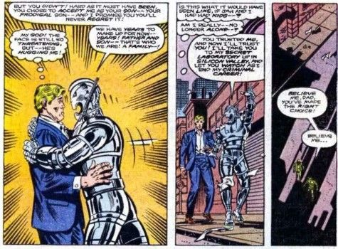 Hank Pym And Ultron 32243