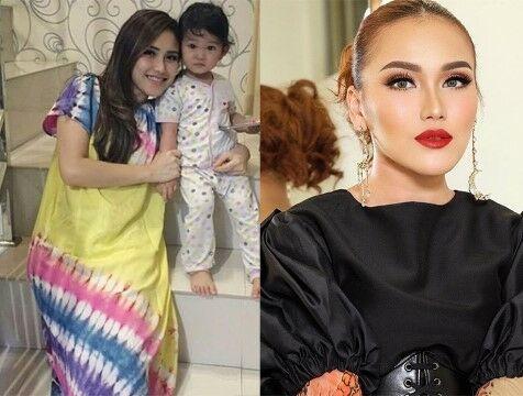 Penampilan Artis Indonesia Saat Pakai Daster Vs Tampil Glamor Custom 19a24