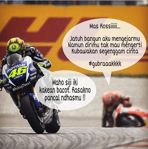 Meme Lucu Rossi Marquez 20