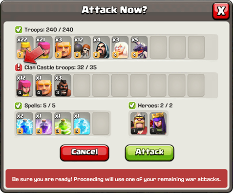 Attack Preview