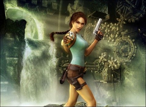 Mitos Video Game Lara Croft Custom Eb497