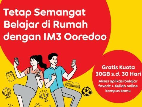 Cara Mendapatkan Kuota Gratis Indosat 2021 Dari Pemerintah 7130d