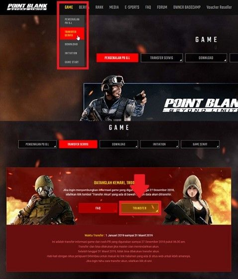 Cara Transfer Akun Point Blank Garena Ke Zepetto 2 30e62