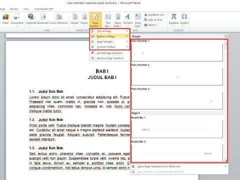 Cara Membuat Halaman Di Word 2016 Custom 32b8b