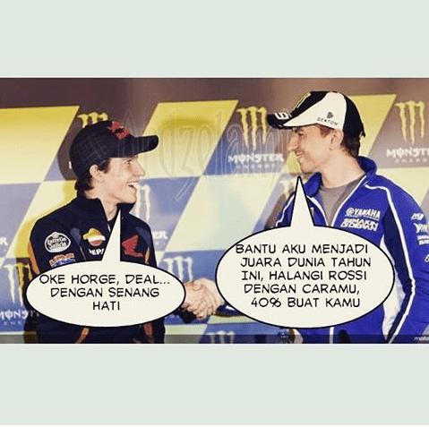 Meme Lucu Rossi Marquez 13