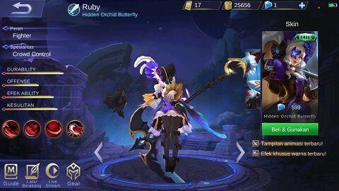 Ruby C7038