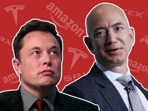 Jeff Bezos Dan Elon Musk 53aea