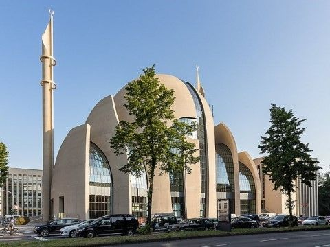 Cologne Central Mosque Jerman 0b21f