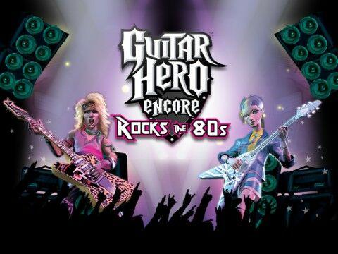 Cheat Guitar Hero Lagu Banyak Guitar Hero Encore Rock The 80s A09ff