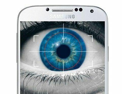 Samsung Iris Scanner