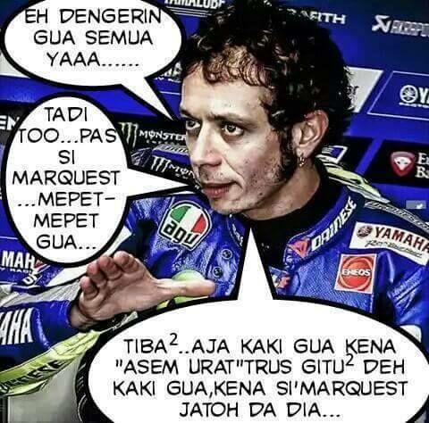 Meme Lucu Rossi Marquez 11