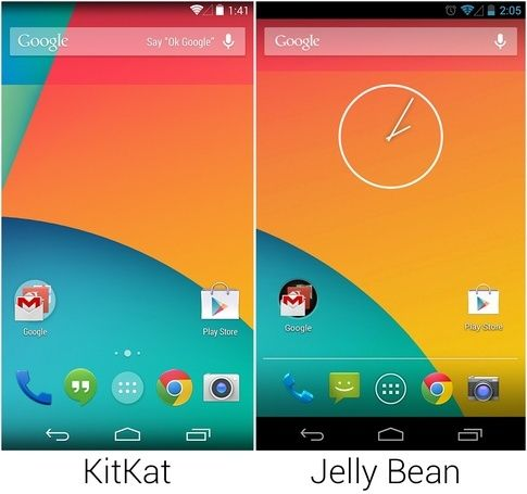 Perbedaan Android Jelly Bean Dan Android Kitkat 1