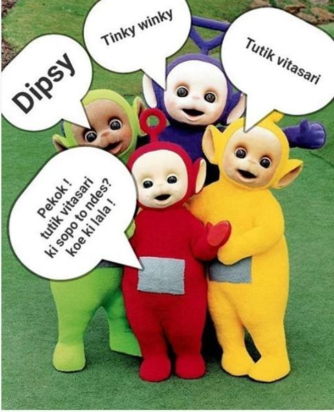 Meme Kocak Teletubbies 6