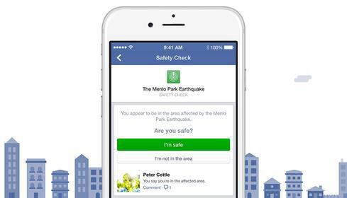Facebook Memperkenalkan Fitur Safety Check1
