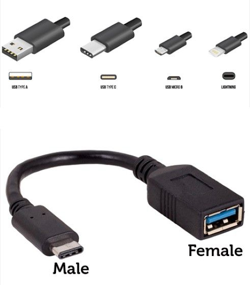 USB Male Female 692b2