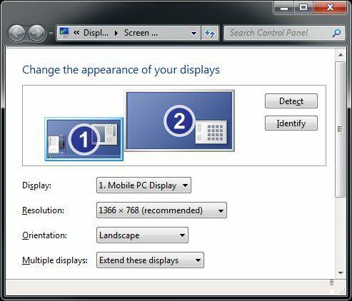 Laptop Screen Resolution 1366x768