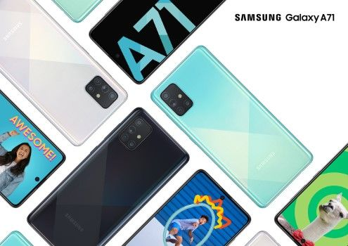 Samsung Galaxy A71 Terbaru 30131