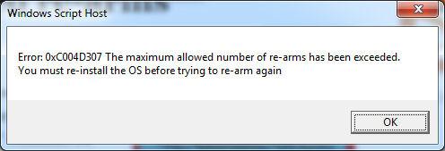 Maximum Rearm 1