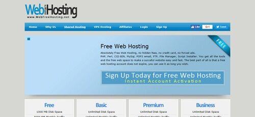 WebFreeHosting