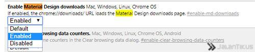 Chrome Material Design 3